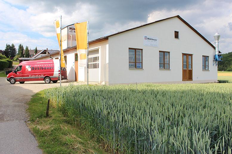 Die Schreinerei Mühlbauer in Postau im Landkreis Landshut